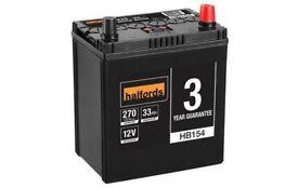 Halfords HB154 Car Battery