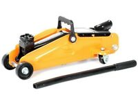 Trolley jack, little used,