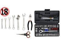 Socket set tools.