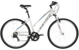 Carrera Crossfire 1 - girls/ladies Hybrid Bike - very little use, in vgc