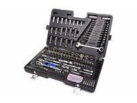 Halfords Advanced 200 Piece Socket and Ratchet Spanner Set Brand New RRP £350