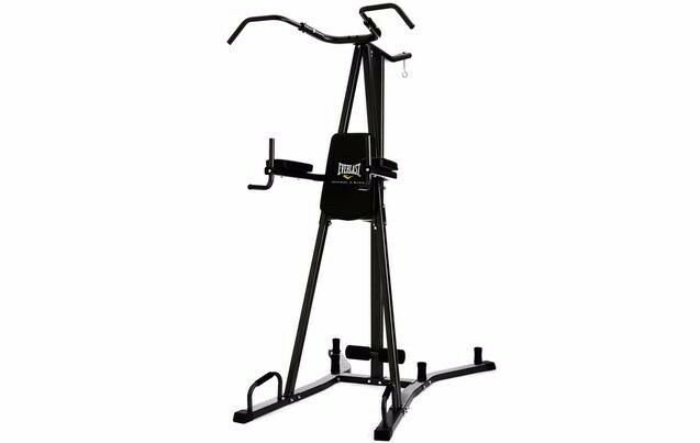 Everlast VKR Pull + Dip Power Tower and Punch Bag Station