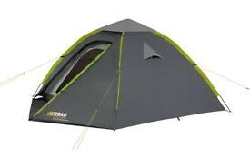 3/4 urban escape tents