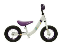 "Halfords Apollo Purple Wizzer 10"" Balance Bike - NEW"