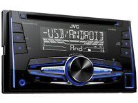 Jvc double din car stereo