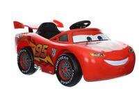 Lightning McQueen 3 ride on 6v battery car