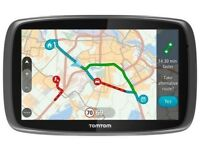 TomTom GO 5100 Sat Nav with MyDrive & Lifetime Traffic & Lifetime World Maps