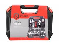 Phaze 52 Piece Mechanic Tool Set Brand New RRP £30