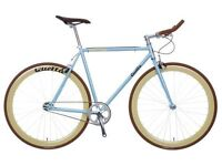 Brand new QUELLA single speed fixed gear fixie road bike/ bicycles + 1year warranty & free service