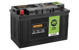 leisure battery 115ah with charger