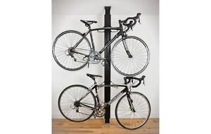 Floor to Ceiling Aluminum Bike Rack