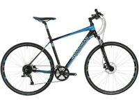 GREAT CONDITION MENS BOARDMAN MX SPORT HYBRID BIKE 54CM FRAME BLACK BLUE RRP£625