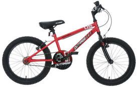 "Apollo 'Outrage' Kids' Bike 18"" wheel in red/black"