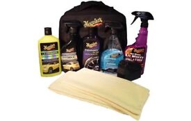 Meguiars deluxe car cleaning kit
