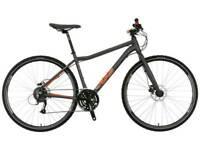 """Voodoo Marasa hybrid bike/bicycle 20"""" frame...like giant specialized carrera scott hybrids"""
