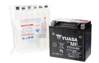 Yuasa Maintenance Free Battery YTX14-BS YUAM3RH4S (PLT-144)