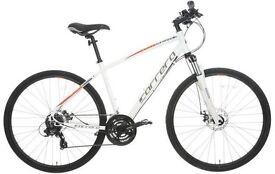 Carrera Crossfire 2 Mens Hybrid Bike - White