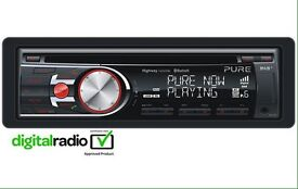 Car CD player with USB port pure highway