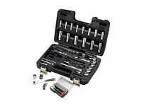 "Halfords Advanced 64 Piece Socket Set 1/4"" 3/8"" Brand New RRP £140"