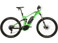 Voodoo zobop full suspension e bike 🚲
