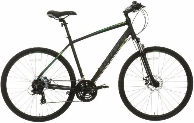 Carrera Crossfire 2 Boys / Mens Hybrid Bike - Black