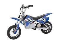 Razor MX350 DIRT ROCKET MOTORCROSS ELECTRIC RIDE ON