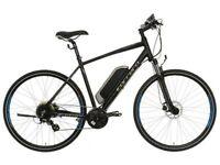 Carrera Crossfire-E Mens Electric Hybrid Bike not boardman voodoo