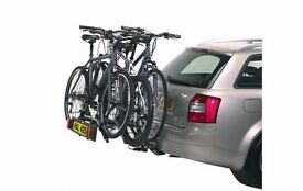 Bike Rack suitable 3 large bicycles minimum: for Hire from £7 per day