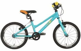 Kids 16 inch (age 5-8) bike. Almost new, cost £160 from Halfords.