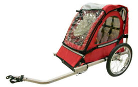 Kids Bicycle Trailer, Single Seat, Never Used