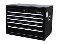 HALFORDS 5 DRAWER TOOL BOX TOP CHEST