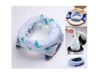 POTETE PLUS TRAVEL POTTY / SEAT & 10 DISPOSABLE POTTY LINERS