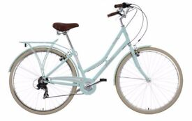 Victoria Pendleton Somerby Hybrid Bicycle with Basket
