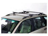 Universal roof bars for cars with roof rails keys included delivered today