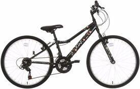 £90 OR NEAR OFFER Apollo Kinx Junior Hybrid Bike and helmet SHOP CONDITION