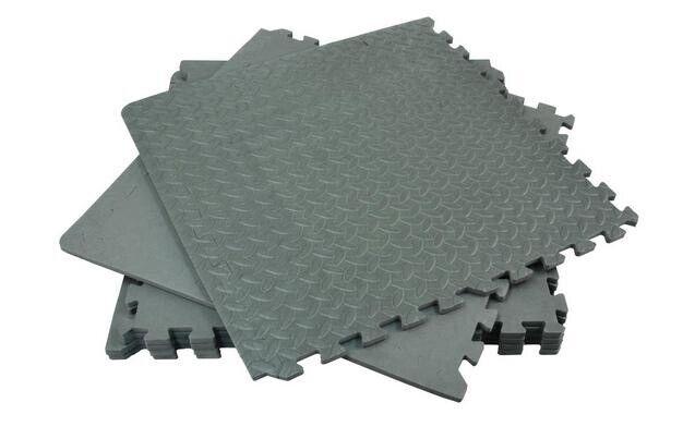 Garage Floor Rubber Tiles