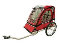 x2 Single Child Bicycle Trailers For Sale