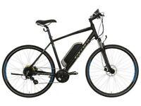 Brand new Carrera Crossfire Electric men's bike