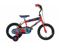 Spiderman Kids Bike 14'' (used for a few months only)