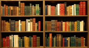 BOOKS- Will pick up any used books for free.