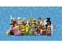 Lego minifigures series 17 - Full set