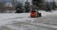 Seasonal & monthly customizable snow removal plans