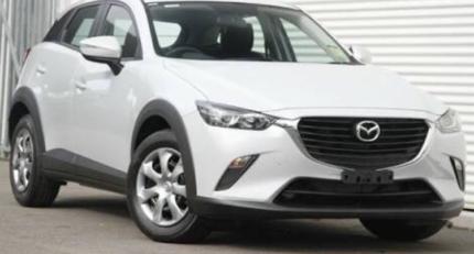 2016 Mazda CX3 pearl white