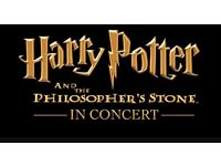 Two Tickets PLUS HOTEL STAY Royal Albert Hall Harry Potter The Philosopher's Stone Live in Concert