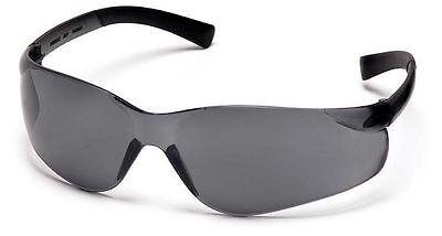 3 Pair 1700rt Series Smoke Gray Lens Safety Glasses