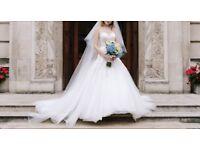 Mori Lee Wedding Dress Size 4
