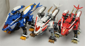 Built Blade Liger AB with Red Armor