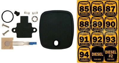 Dresser Wayne 888872-001 Ovation Svc Button Kit Includes Octane Sheet 888717-002