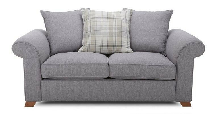 Sherlock 2 seater pillow back sofa