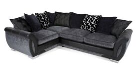 Rebecca 3 seater pillow corner sofa